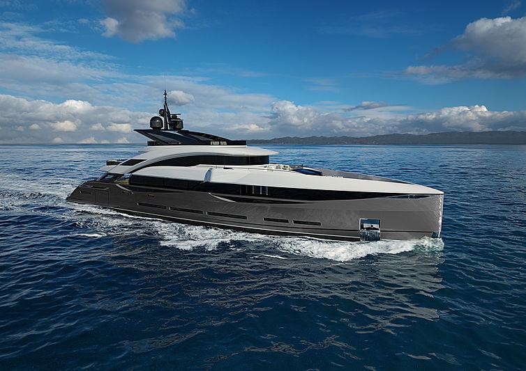 ISA Gran Turismo 45 yacht exterior design
