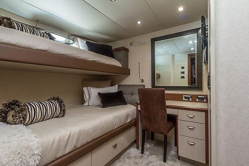 Liquidity yacht stateroom