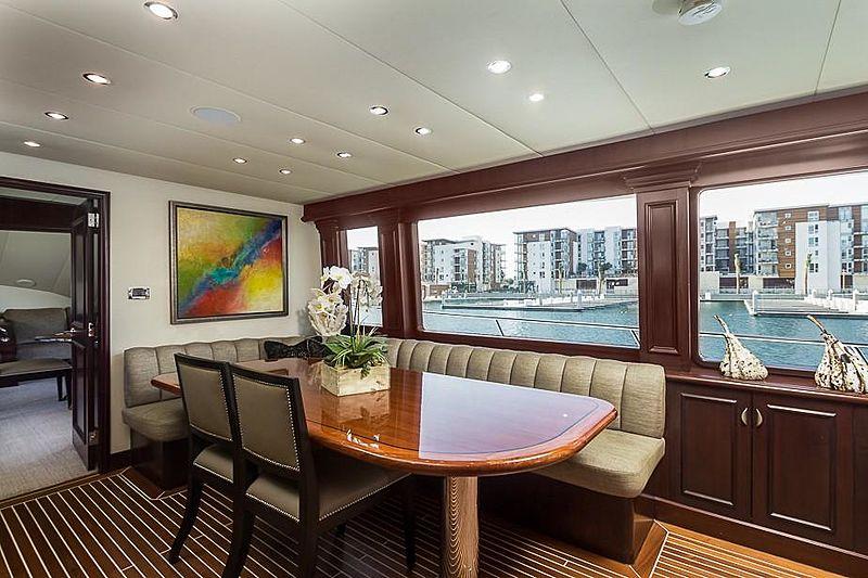 Liquidity yacht galley
