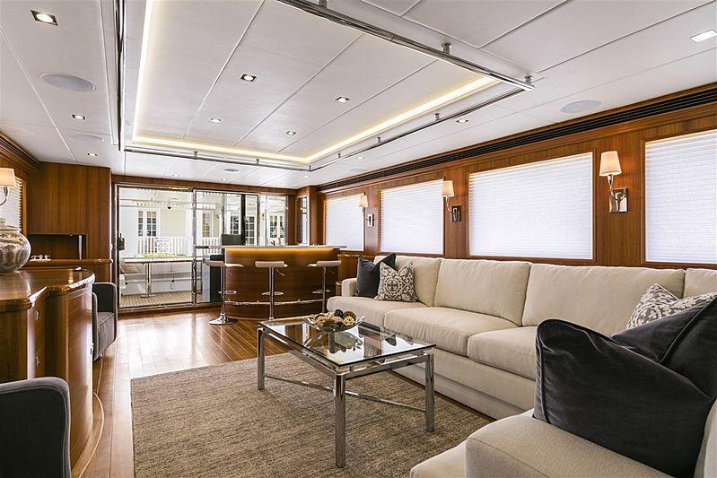 Simon Says yacht saloon