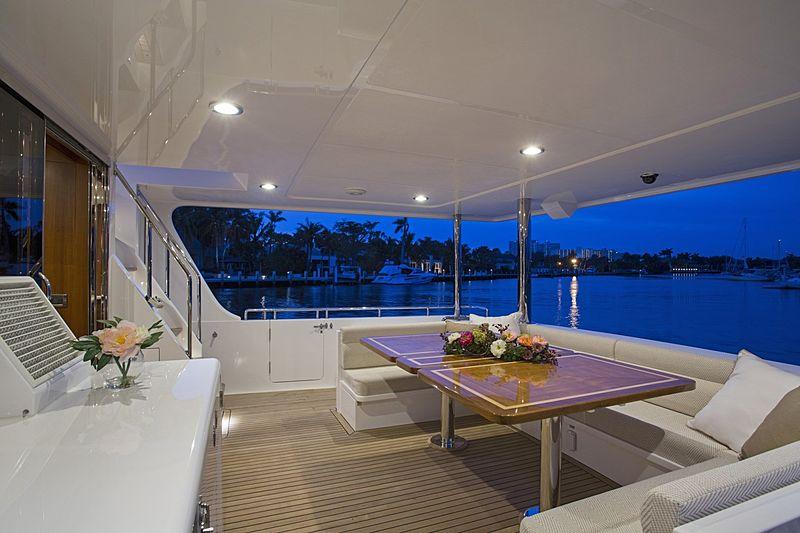 Simon Says yacht aft deck