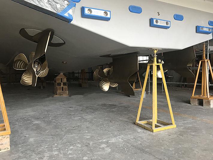 Mazu 82/01 yacht in build in Yalova