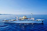 Christina O yacht cruising