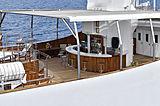 Christina O yacht deck