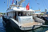 Lunar yacht in Port Canto
