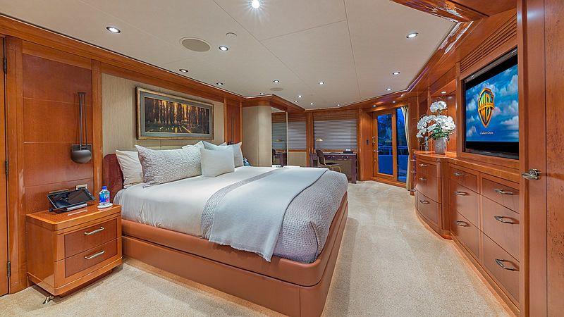 Hospitality yacht stateroom