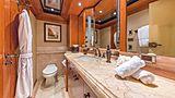 Hospitality yacht bathroom