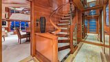 Hospitality yacht staircase