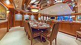 Hospitality yacht dining table