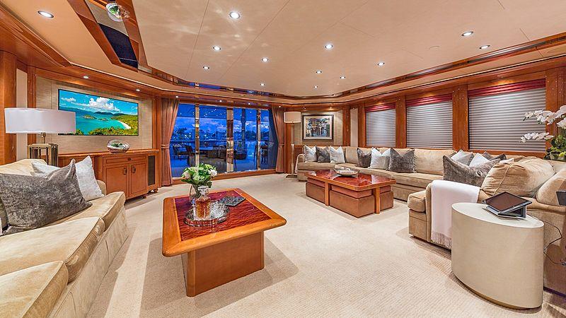 Hospitality yacht saloon