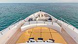 Hospitality yacht foredeck