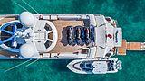 Hospitality yacht sundeck