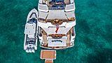 Hospitality yacht aft decks