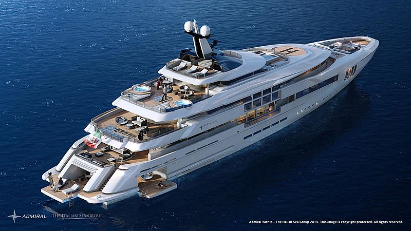 C Force 65m yacht rendering
