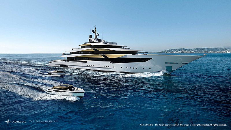 Galileo 70 yacht rendering