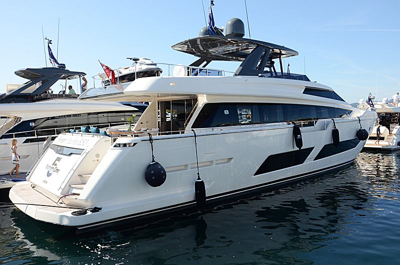 E3 yacht Ferretti Yachts