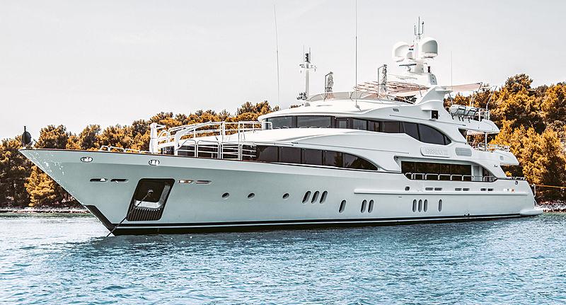 Harmony III yacht by Benetti in Cavtat, Croatia