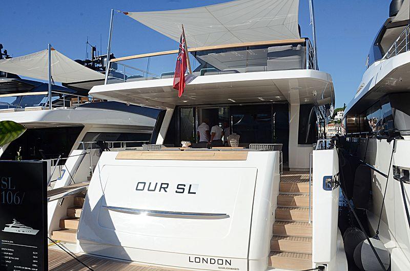 OUR SL yacht Sanlorenzo