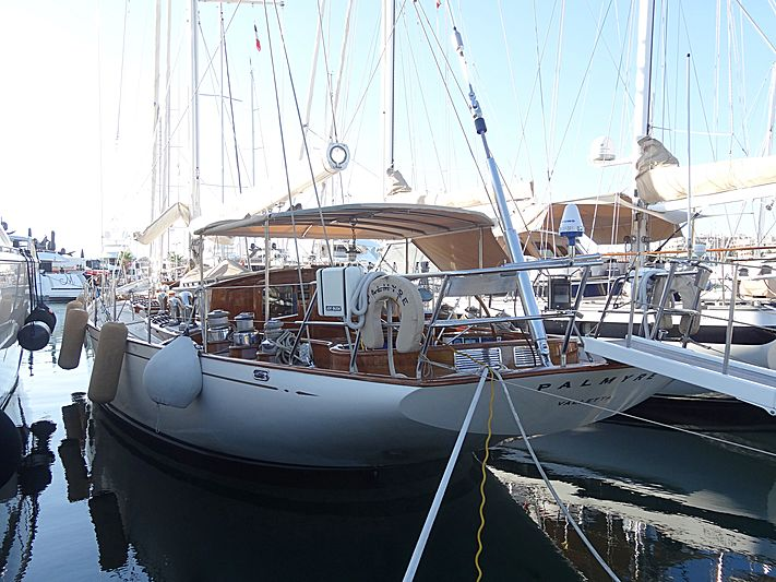 Palmyre yacht in Antibes