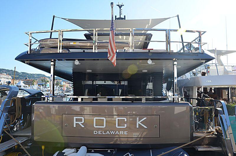 Rock yacht in Cannes