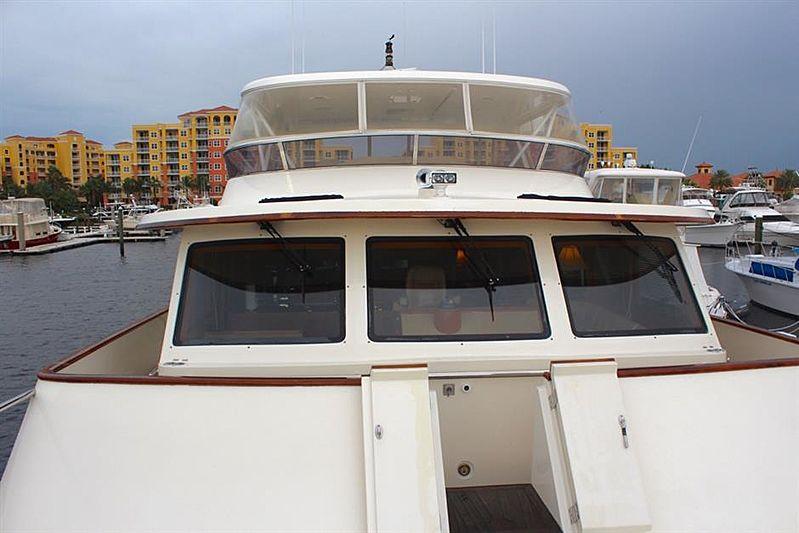 Bacalao yacht deck