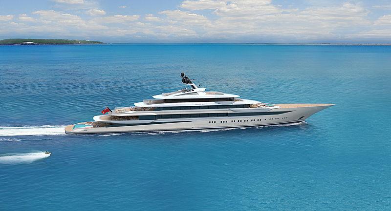 120m Private Bay concept by Horazio Bozzo and Fincantieri Yachts