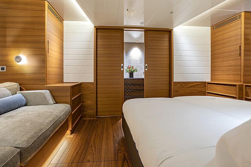 Canova yacht stateroom
