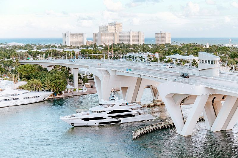 Majesty 140#3 yacht by Gulf Craft in Fort Lauderdale