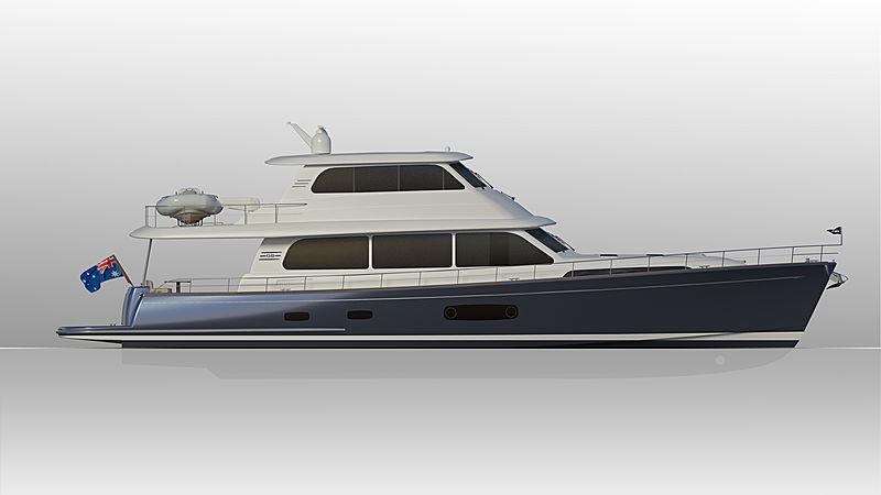 Grand Bank 85 yacht exterior design