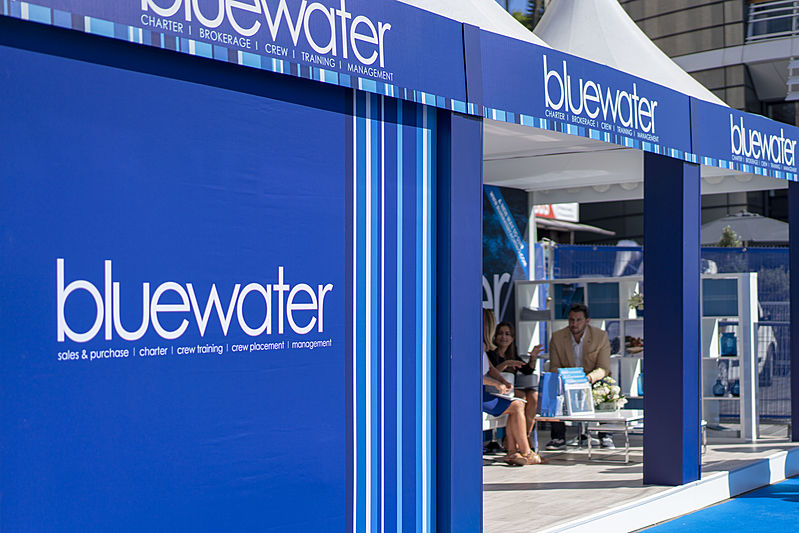 Bluewater promotion stand MYS