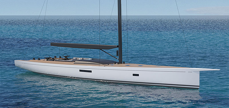 Southern Wind SW105/04 yacht exterior design