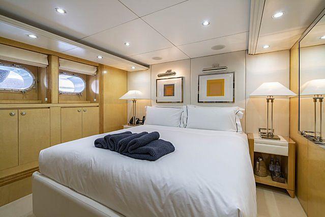 Oceana yacht interior