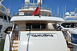 Tanusha yacht in Port Canto