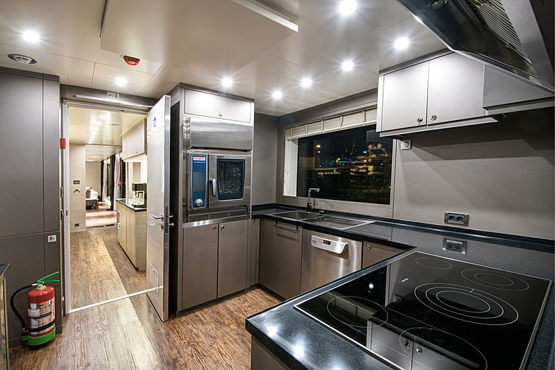 Virtus yacht galley