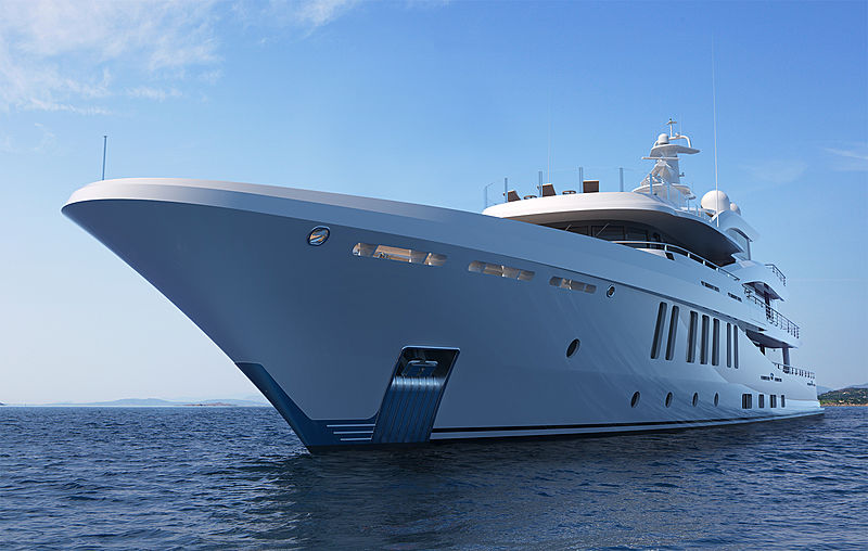 Amels 200 yacht exterior rendering