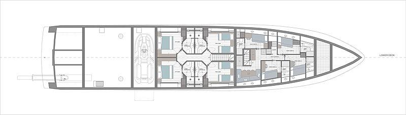 Baglietto Abaco yacht concept