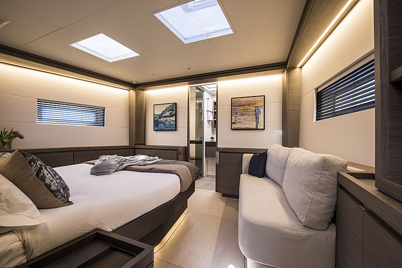 Seatius yacht by Southern Wind interior
