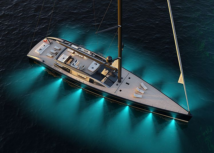Perini Navi 47m E-volution sailing yacht