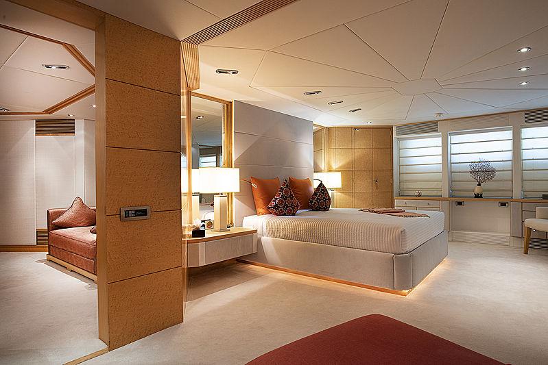 Deep Blue II yacht stateroom