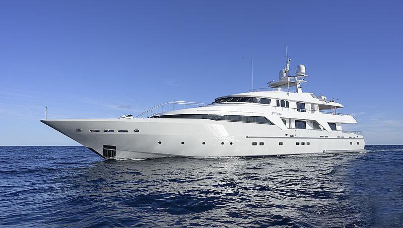 Deep Blue II yacht cruising