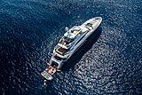Solaris yacht at anchor