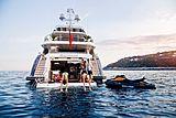 Solaris yacht stern
