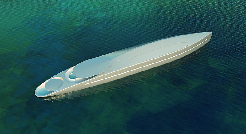 L yacht concept by Thierry Gaugain