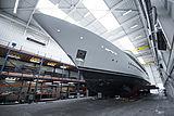 Broadwater yacht at Huisfit in Zaandam