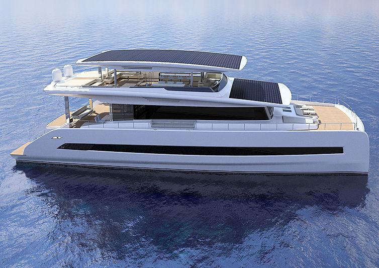 Silent 80 yacht exterior design
