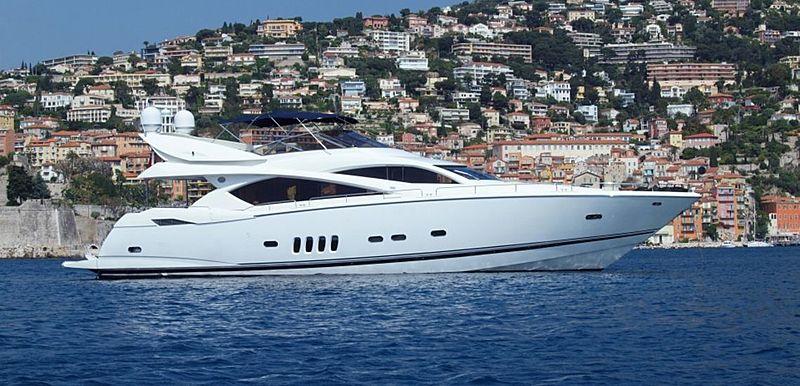CHESS yacht Sunseeker