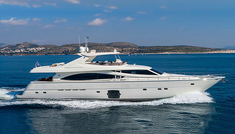 BY ALL MEANS yacht Ferretti Yachts