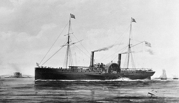 North Star yacht, 1852