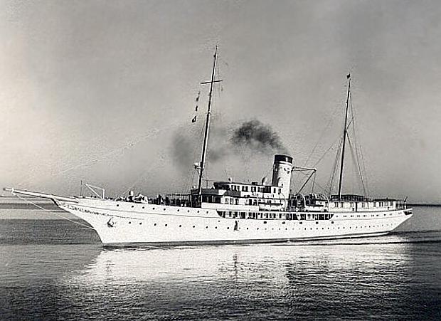 Corsair IV as a cruise ship