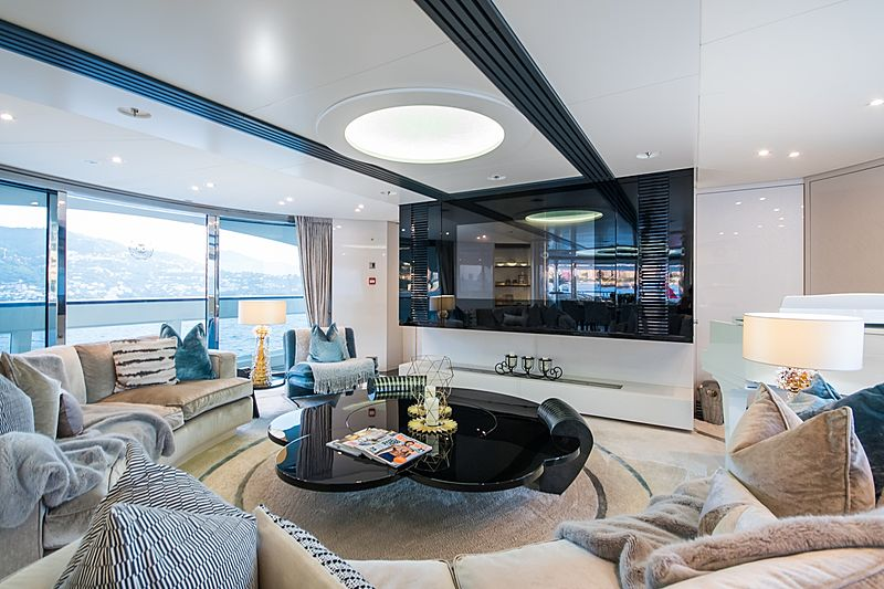 Quite Essential yacht saloon